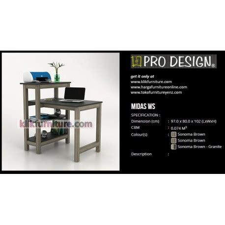 Meja Plastik Shinpo midas ws pro design meja serbaguna harga sale