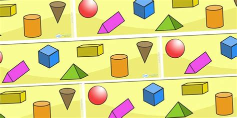 printable shapes for classroom display twinkl resources gt gt shape display borders 3d gt gt classroom