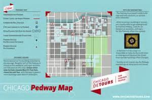 Chicago Underground Tunnels Map by Chicago Pedway Map Underground Tunnel System Tours