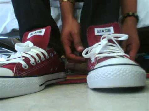 how to bar lace high top converse how to bar lace converse high tops converse video