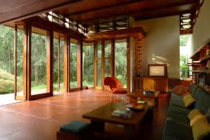 Frank Lloyd Wright Home Interiors by Frank Lloyd Wright House Saved Archdaily