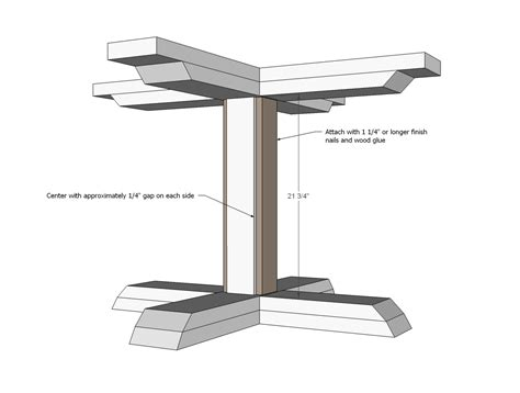 How To Make A Pedestal Square Pedestal Table