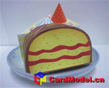 Papercraft Cake - of cake papercraft free papercrafts paper models