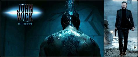 what tattoo does john wick have on his back movies in motion john wick 2014 overview