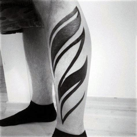 modern tribal tattoos 60 tribal leg tattoos for cool cultural design ideas