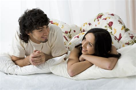 couple in bed how to talk to your spouse about sex house on the rock