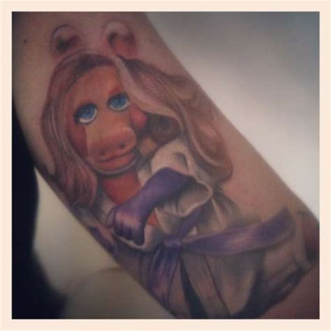 miss piggy tattoo designs miss piggy