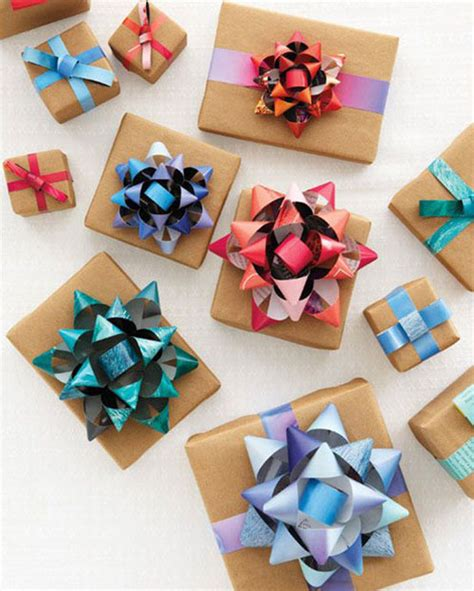 Make A Bow Out Of Wrapping Paper - 19 wrapping paper crafts