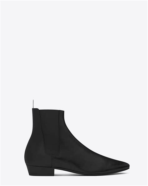 ysl chelsea boots laurent 30 chelsea boot in black leather ysl