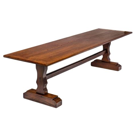 Monastery Dining Table Antique Solid Oak Monastery Table Jean Marc Fray