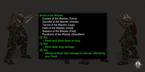 diablo iii best barbarian legendary and set items in get set with early analysis of the new barbarian demon