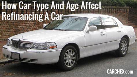 car type  age affect refinancing  car
