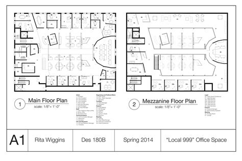 Local 999 Warehouse Office Rita Wiggins Archinect Warehouse Office Floor Plans