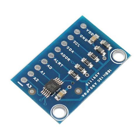 16bit I2c Ads111s Module Adc 4 Channel With Pro Gain Lifier Ardui 16 bit i2c ads1115 module adc 4 channel with pro gain lifier for arduino