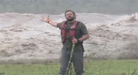 tv host   bit  casual   massive river wave