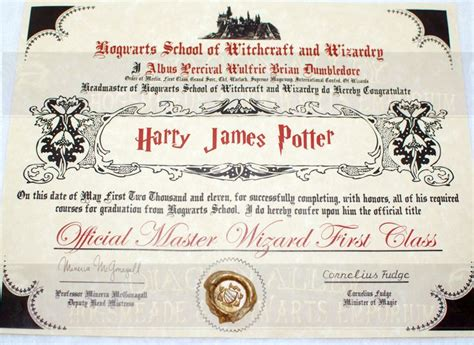 hogwarts certificate template 1000 images about birthday on harry potter