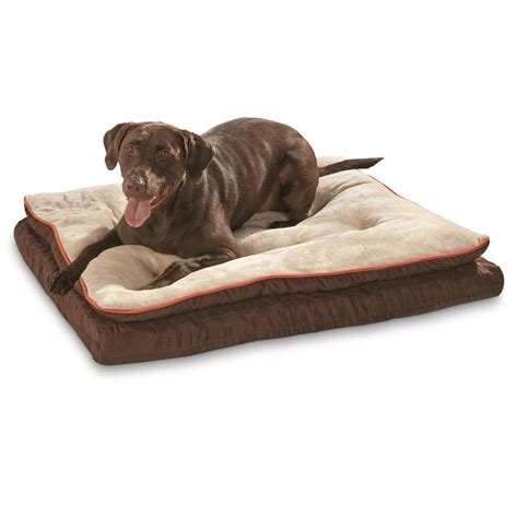 dog bed with pillow kh pet products pillow top orthopedic lounger dog cat bed