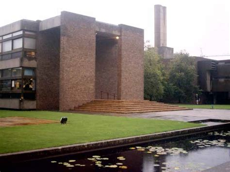 David Wright Architect by Churchill College Cambridge Building E Architect