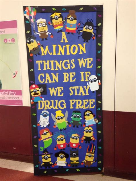 Door Decorations For Free Week by 1000 Ideas About Minion Door On Minion Door