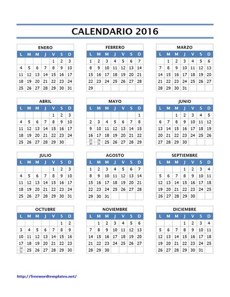 printable calendar 2016 rsa plantillas office plantillas excel plantillas word