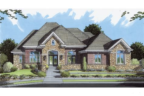 brick and stone house plans house plans stone brick exterior