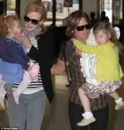 toby keith yellow rose nicole kidman keith urban and their children look in good