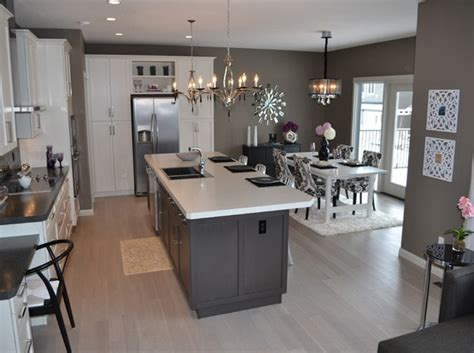 Kitchen Island With Legs 20 Terrific Grey Kitchen Ideas And Designs Interior
