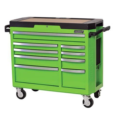 monster 4 drawer tool cart kincrome contour 174 tool trolley 9 drawer monster green