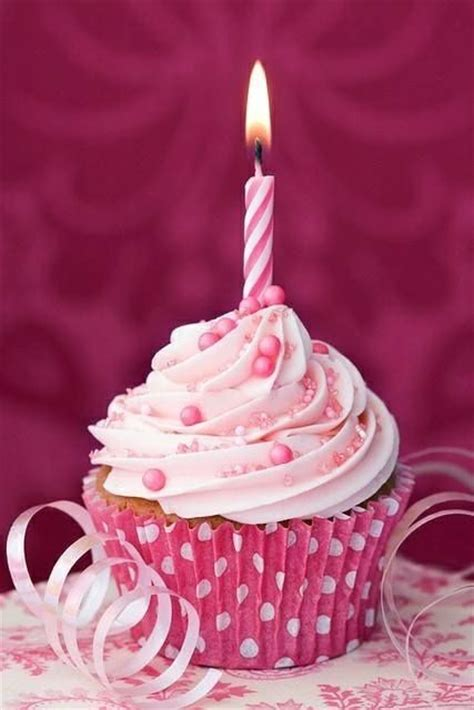 pic candle turns one today happy birthday d by piccandle happy birthday cupcake cute pink happy pretty wish candle