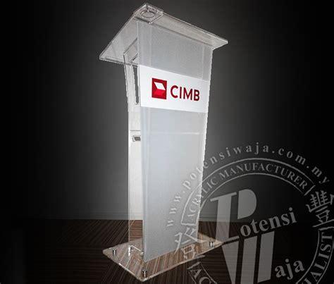 Rostrum Acrylic acrylic rostrum manufacturer malaysia