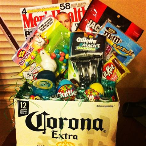 Made This Easter Basket For Boyfriend So Easy And A