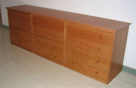 4 Drawer Credenza and File Cabinet : Custom Furniture