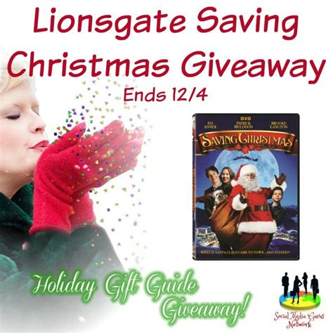 Giveaway Christmas - god s growing garden lionsgate saving christmas giveaway