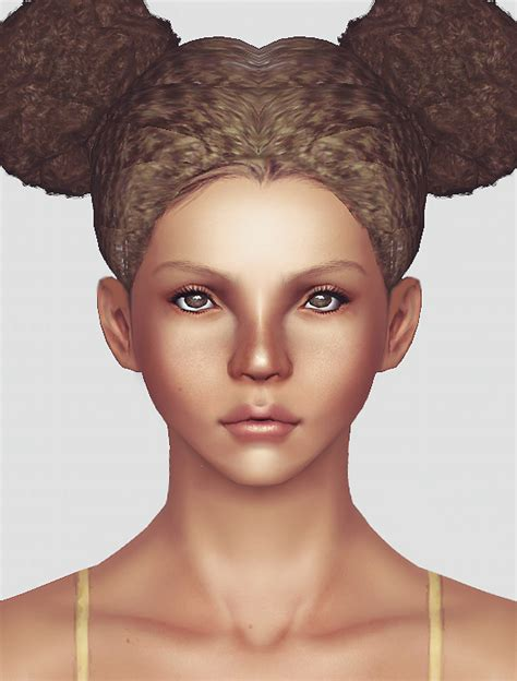 sims 3 african american hairstyles afro puffs newsea and modish kitten hairstyle mashup by momo sims 3 hairs
