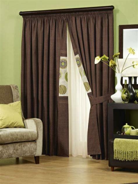 gardinen wohnzimmer braun einrichten mit farben braune m 246 bel und w 228 nde f 252 r