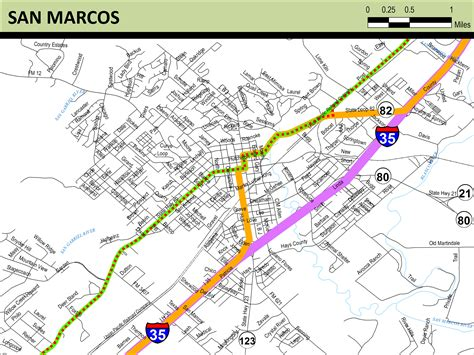 map san marcos texas meridian highway maps thc texas gov texas historical commission