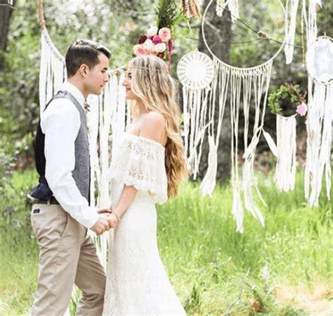 bohemian backyard wedding bohemian themed weddings in sedona