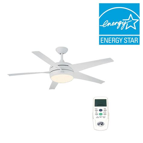 windward ii ceiling fan hton bay windward ii 54 in white ceiling fan 55296