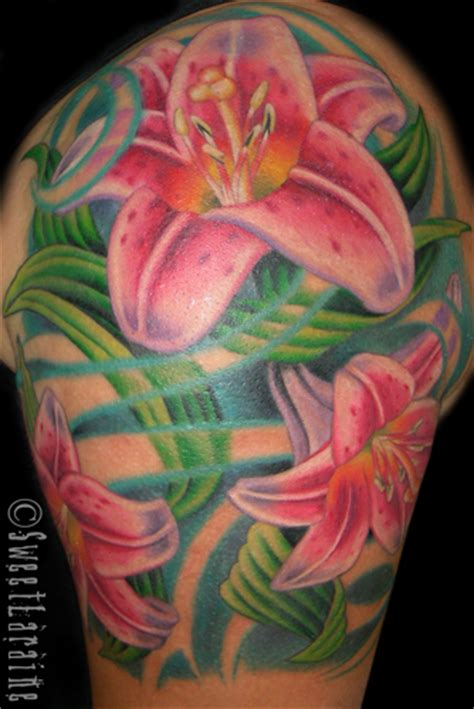 stargazer lily tattoo designs stargazer gallery best