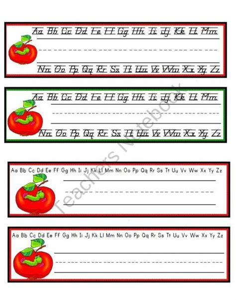 printable desk name tags for kindergarten apple themed desk name cubbie tags product from