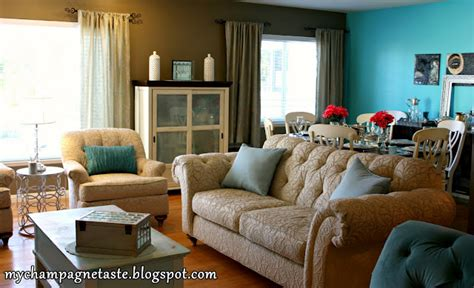Light Teal Living Room by Teal Accent Wall Dining Room Home Garden Design