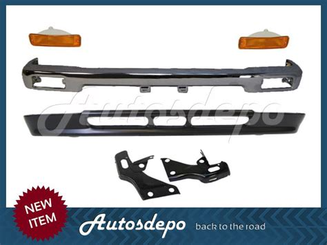 94 Toyota Front Bumper 92 95 94 93 Toyota 2wd Front Bumper Bar Chrome