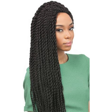 crochet braids track hair outre x pression crochet braid senegalese twist large 18