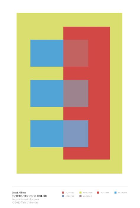 josef albers interaction of color josef albers interaction of color quot transparence and