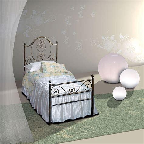 letto singolo in ferro letto singolo in ferro battuto gea