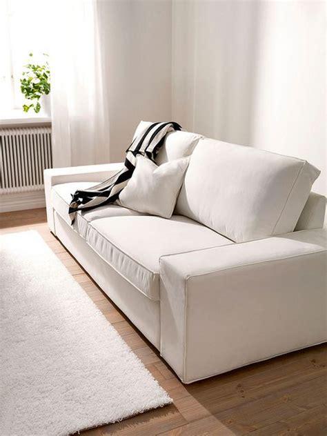 Unique Sofa Slipcovers by Kivik 3 Seater Sofa Cover White Slipcover Custom