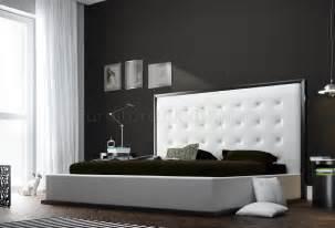ludlow bedroom furniture ludlow white leather bedroom set by modloft
