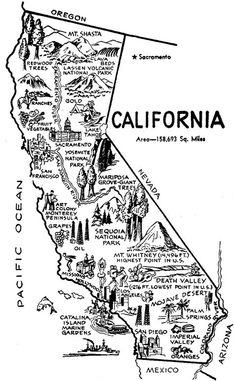 california map black and white california map clip clipart best