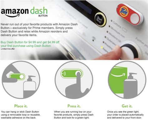brandchannel  brands dash buttons    pushed  amazon prime