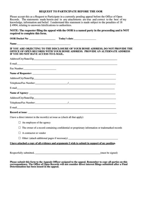 participation form template top 10 participation application form templates free to